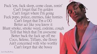 A$ap Rocky - Fukk Sleep Ft. Fka Twigs    S Songs