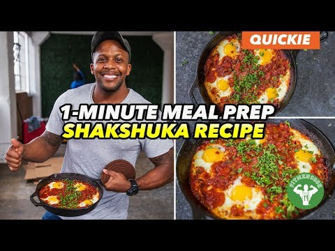 Meal Prep – Super Easy TexMex Shakshuka Breakfast Recipe
