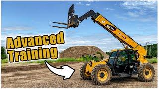 How to Drive a Forklift - Advanced   Telehandler Forklift Training