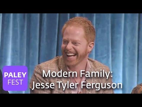 Modern Family   Jesse Tyler Ferguson Can't Stop Laughing