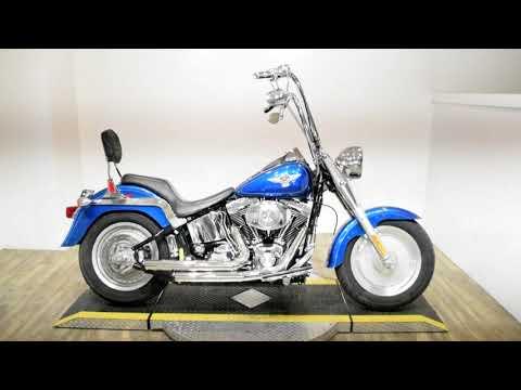 2005 Harley-Davidson FLSTFI FAT BOY in Wauconda, Illinois - Video 1