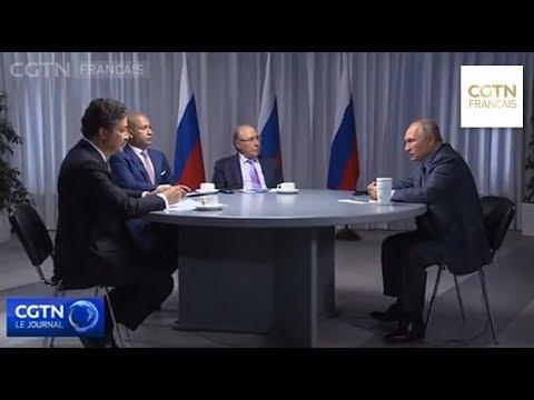 Poutine : les troupes étrangères illégales en Syrie doivent partir Poutine : les troupes étrangères illégales en Syrie doivent partir