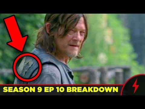 WALKING DEAD 9x10 BREAKDOWN - Details You Missed!