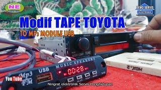 Modif TAPE TOYOTA To MP3 Module