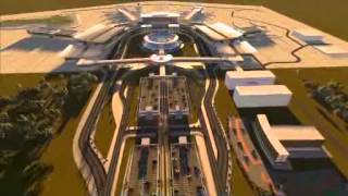 Lagos Airport 3D Animation