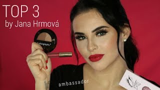 TOP 3 makeup produkty by JANA HRMOVÁ | Ambassador Stayunique