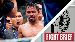 Manny Pacquiao's next fight update | Who is Keith Thurman rumored opponent