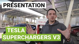 Tesla Supercharger V3 : l'incroyable station de recharge de Las Vegas