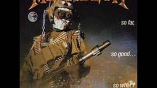 Megadeth - In My Darkest Hour video