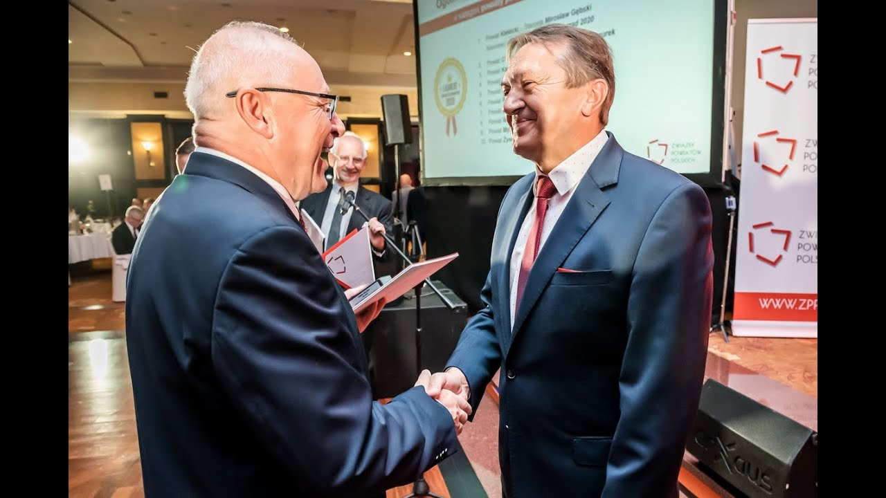 Powiat Kielecki - Dobry Polski Samorząd 2020 w kategorii powiaty powyżej 120 tys. mieszkańców