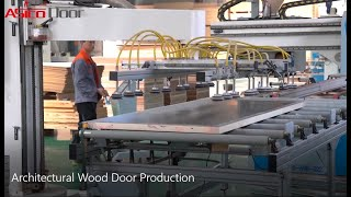 How Architectural Wood Door are Made and Packed
