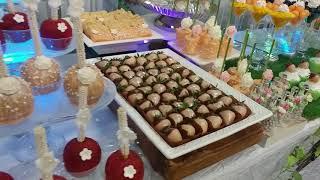 Flowers Wedding Candy Bar