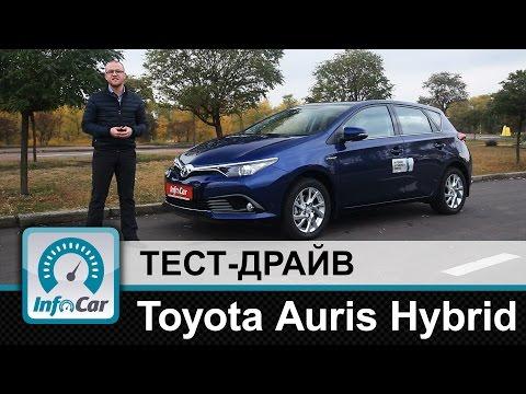 Toyota  Auris Хетчбек класса C - тест-драйв 1