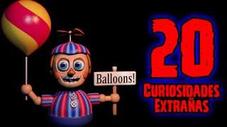 TOP 20: Las 20 Curiosidades Extrañas De Ballon Boy De Five Nights At Freddy's   fnaf 2