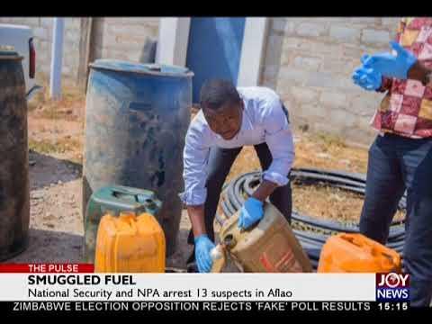 Smuggled Fuel - The Pulse on JoyNews (3-8-18)