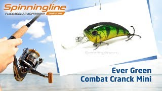 Воблер evergreen combat crank mini sr