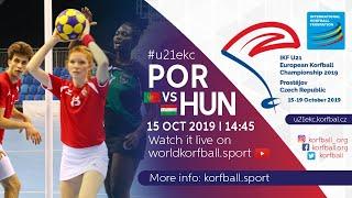 IKF U21 EKC 2019 POR – HUN