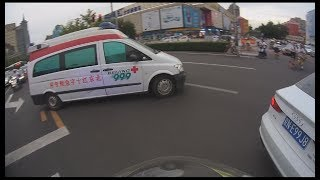 Urgent escort for Red Cross Ambulance, in rush hours traffic jam