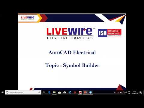 Demo for AutoCAD Electrical Course - YouTube