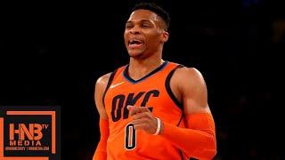 OKC Thunder vs New York Knicks Full Game Highlights | 01/21/2019 NBA Season