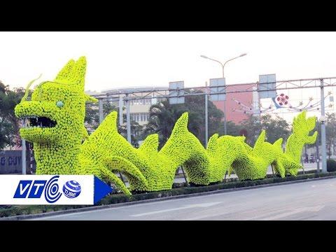 Hải Phòng tháo bỏ hoa hình 'rồng lai pikachu' | VTC