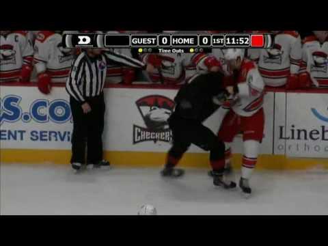 Brody Sutter vs. Josh Anderson