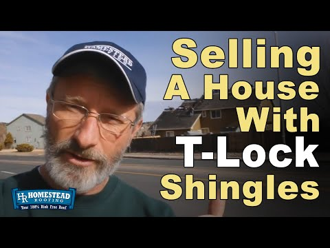 Why could it be a potential problem to try to sell or buy a house with T-Lock shingles in Colorado Springs?