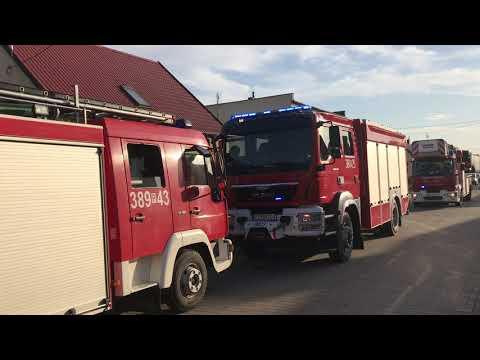 Wideo1: Pożar w Garzynie