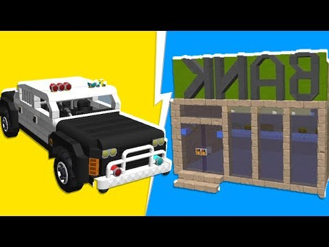 The BIGGEST Scrap Bank Heist YET! - Scrap Mechanic   JeromeACE