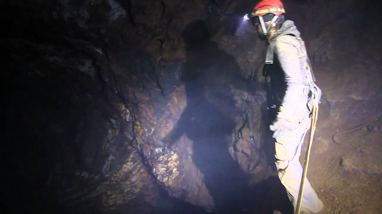 Watch These People Jump Into The Darkest Pit Of Hell