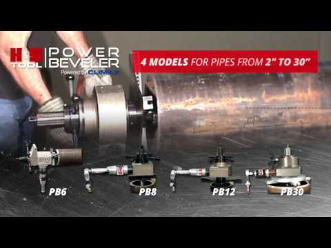 Tube/Pipe cutting Beveling and Squaring Tool | H&S BOILER GUN™