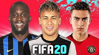 VIA DYBALA, ARRIVA NEYMAR?! 螺 TOP 10 TRASFERIMENTI FIFA 20 - ESTATE 2019   Lukaku, Maguire, Suso