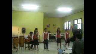 preview picture of video 'Dansa Yo Dansa cover by Vocal Group SMP MW Sukabumi (Festival Lomba Seni Nasional)'