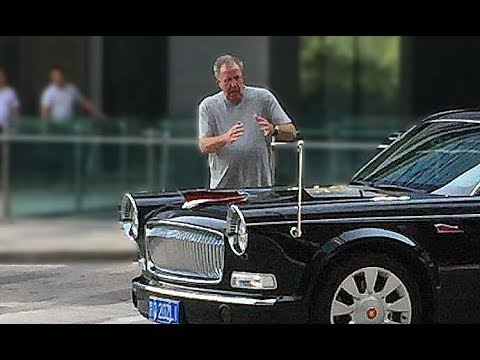 The Grand Tour Filming In China Jeremy Clarkson Testing The Hongqi L5