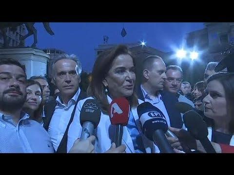 Δηλώσεις της Ντ. Μπακογιάννη για το αποτέλεσμα των εκλογών στην Αθήνσ
