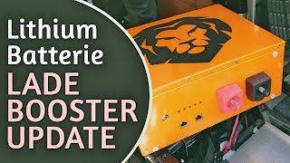 UPDATE! LiFePo4 Liontron Batterie im Womo - Ladebooster erforderlich!