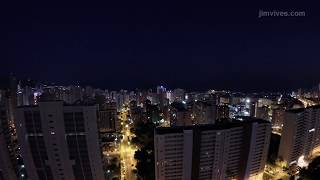 Benidorm Nightfall 4K #timelapse #gopro #benidorm #skyline #spain