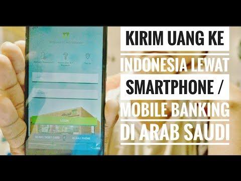 Kirim Uang ke Indonesia Dengan Smartphone (Mobile Banking) di Arab Saudi