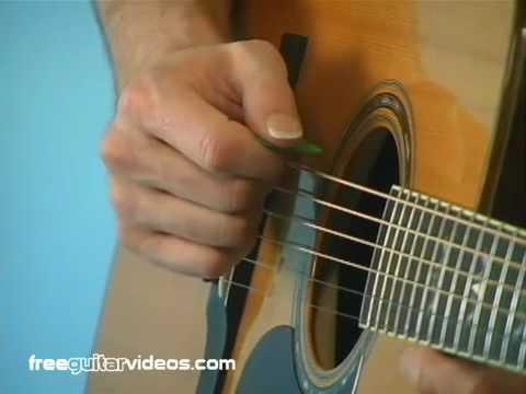 Beginning Guitar Lesson: Alternate Picking
