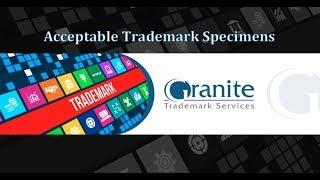 Acceptable Trademark Specimens