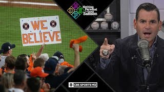 Even if Astros win tonight, front office already lost | Nothing Personal with David Samson