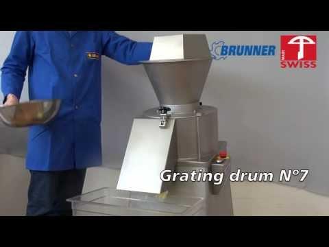 Brunner-Anliker Industrial cheese grater IR 250