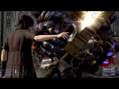 Final Fantasy XV – Battle Gameplay First Look