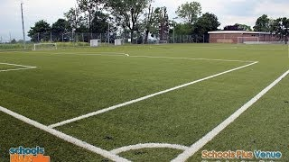 preview picture of video 'Schools Plus Venue @ Purley - 3G Football Pitch For Hire'