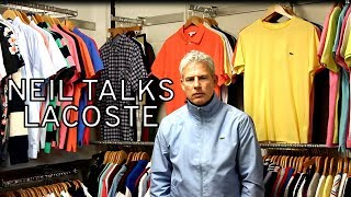 Neil Talks About New Lacoste