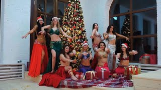 Merry christmas │ Нappy New year belly dance  ♚ Amouage ♚ Belly dance studio