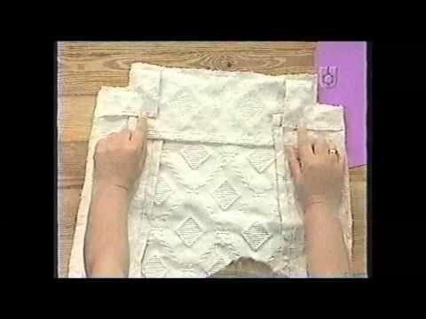 Puntos y Puntadas 434. Funda para el asiento de una Silla en tela tapicería, Jacquard . G. Alvarado.