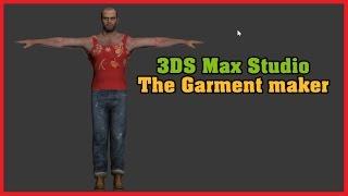 Gta V: Making A New Cloth For Trevor - 3ds Max :garment Maker-clothing Maker Tutorial