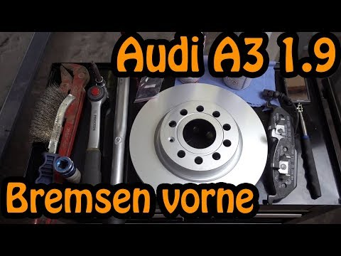 AUDI A3 1.9 TDI 8P - ATE BREMSEN VORNE!!! 🔧🔧🔧
