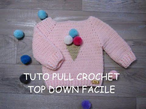 Tuto Pull Top Down Au Crochet Facile Undertale Crochet